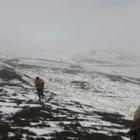 Ardahan'daki kar yağışı