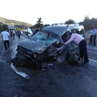 Akseki'de trafik kazası: 2 yaralı