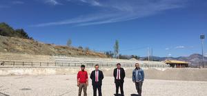 Suşehri Stadyumu tadilata alındı