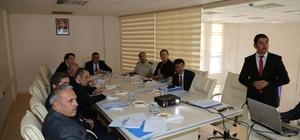 Aksaray'da Acil Çağrı Hizmetleri İl Koordinasyon Komisyonu toplandı
