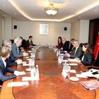 Başbakan Yardımcısı Kaynak'ın kabulü