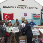 TİKA'dan Kenya'ya tıbbi ekipman desteği
