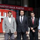 FETÖ mağduru eski askeri öğrenciler CHP'yi ziyaret etti