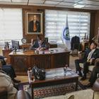 Abana Belediye Başkanı Oyar'a ziyaret