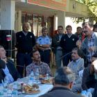 Başkan Öztekin, sanayi esnafıyla bir araya geldi
