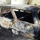 Artvin'de otomobil yangını