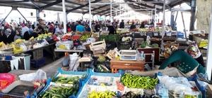 Boyabat'ta kapalı pazar yeri açıldı