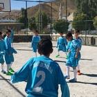 Tahir Ortaokuluna sportif malzeme desteği