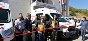 Tunceli'ye zırhlı ambulans tahsis edildi