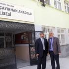 Nallıhan Milli Eğitim Müdürü Benlice, okulları ziyaret etti