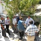 Kaymakam Şekerci'den mahalle ziyareti