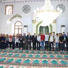 Dinar KYK öğrencileri, Ulu Cami'yi ziyaret etti