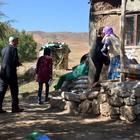 Yüksekova'da şehit ailelerine ziyaret