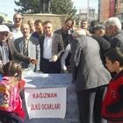 """Kağızman'da """"Demokrasi Şehitleri"""" için helva dağıtıldı"""