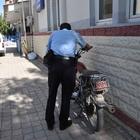 Sürücüsünün bırakıp kaçtığı motosiklet çalıntı çıktı