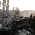 Erzurum'da ev yangını