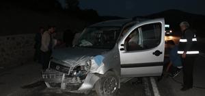 Mudurnu'da trafik kazası: 1 yaralı