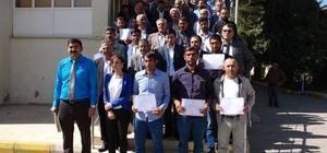 Viranşehir'de çobanlık sertifikaları dağıtıldı