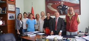 İpsala Belediye Başkanı Kerman'a ziyaret
