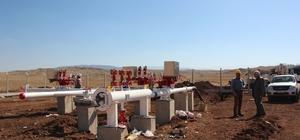 Zara'da doğalgaz çalışmaları