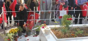 Kahraman şehit Halisdemir'in kabrine ziyaretler sürüyor