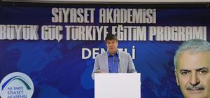 Denizli'de Siyaset Akademisi başladı