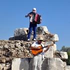 Antik kentte sürpriz opera konseri