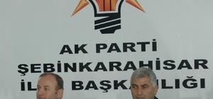 AK Parti Giresun Milletvekili Öztürk, Şebinkarahisar'ı ziyaret etti