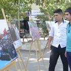 Kahta'da 15 Temmuz Demokrasi Zaferi konulu fotoğraf sergisi