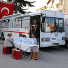 Gümüşhacıköy'de kan bağışı kampanyası