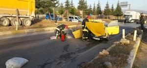 Denizli'de trafik kazaları: 1 ölü, 3 yaralı