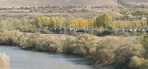 Erzincan'da yük treninin geçişi sırasında patlama
