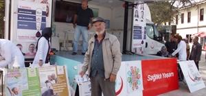 Taraklı'da vatandaşlara sağlık kontrolü