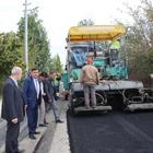 Havza Belediyesinin asfaltlama çalışmaları