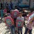 İsveç'ten Suriyeli yetim çocuklara yardım