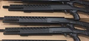 Konya'da yasa dışı üretilen 84 av tüfeği ele geçirildi