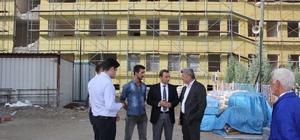 Yığılca'daki İmam Hatip Lisesi inşaatı
