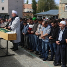 Hakan Çalhanoğlu'nun babaannesinin cenazesi, Bayburt'ta defnedildi