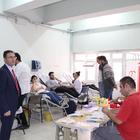 Havza Meslek Yüksekokulunda kan bağışı çalışması