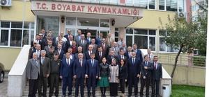 Sinop Valisi İpek, Boyabat'ta incelemelerde bulundu