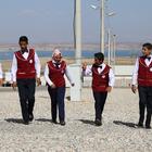 Sığınmacı çocuklar korosu gururlu