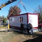 Evi yanan vatandaşa konteyner ev hediye edildi