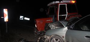 Azdavay'da trafik kazası:1 yaralı