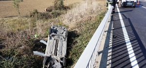 Tekirdağ'da trafik kazası: 1 ölü, 2 yaralı
