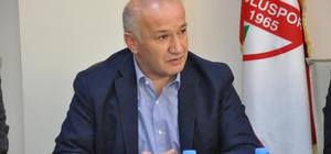 AK Parti Bolu Milletvekili Ercoşkun, Boluspor'u ziyaret etti
