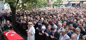 Eski Türkeli Belediye Başkanı Özcan'ın cenazesi defnedildi