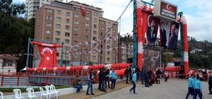 """Zonguldak'ta """"15 Temmuz Şehitler Köprüsü"""" açıldı"""