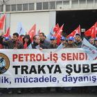 TPAO işçilerinden iş bırakma eylemi
