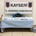 Kayseri'de tarihi eser ve uyuşturucu operasyonu