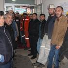Amasya'da maden işçilerinin talepleri